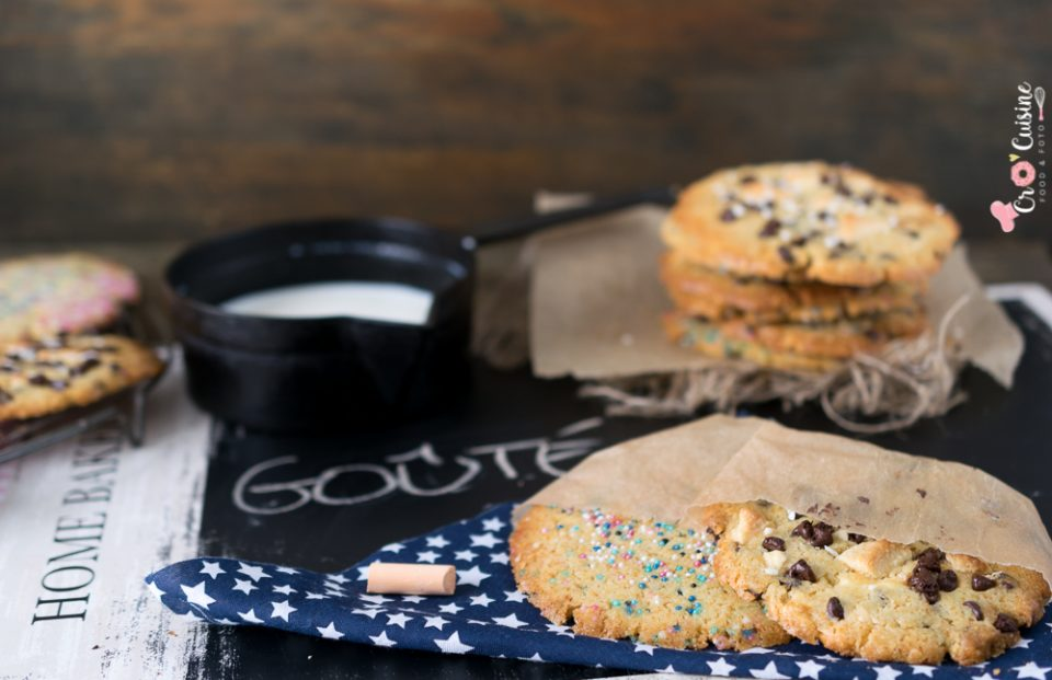 De bons cookies américains pour le goûter de vos enfants qui plairont même aux plus grands