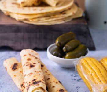pain tortillas à garnir selon l'envie