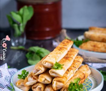 De délicieux cigares turcs pour accompagnés soupe ou une salade
