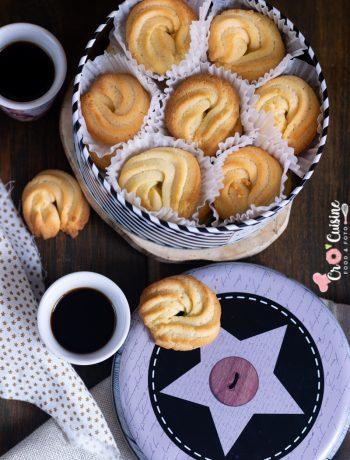 biscuit pur beurre façon boîte en fer danoise à déguster avec un bon café