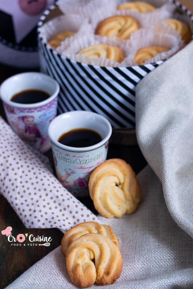 biscuits pur beurre façon boîte en fer danoise à déguster avec un bon café