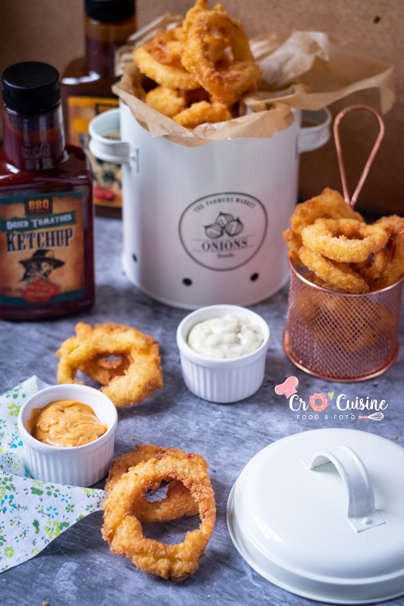 des onions rings en français oignons frits
