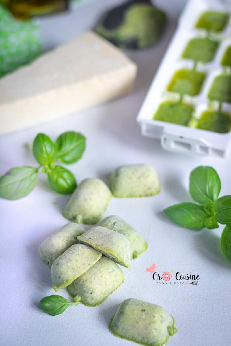 des cubes aromatiques au basilic parmesan et huile d'olive, un allié pour l'assaisonnement