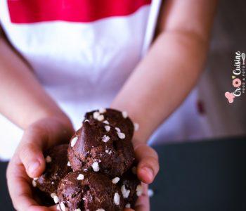 les chouquettes au chocolat pour démarrer la rentrée, délicieuses et légères