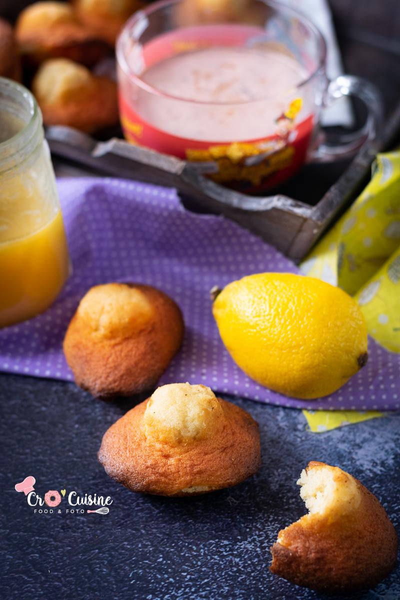 La madeleine de Commercy goûteuse, légèrement citronné avec un bon goût de beurre idéale pour le goûter