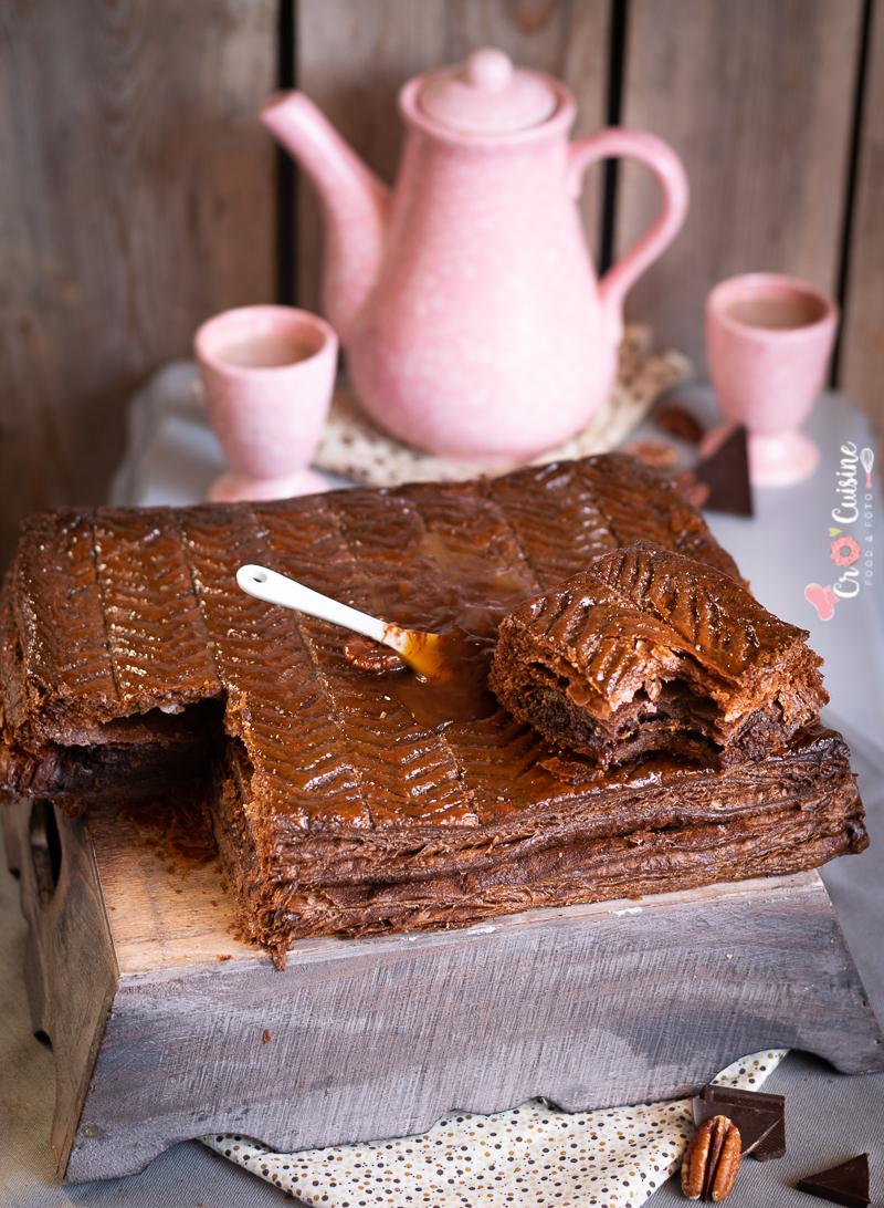 galette des rois tout chocolat