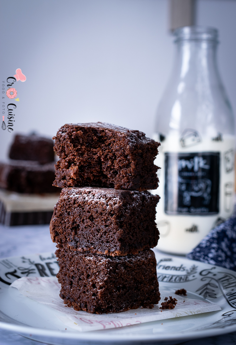 un fondant moelleux au chocolat parfait pour les goûters.