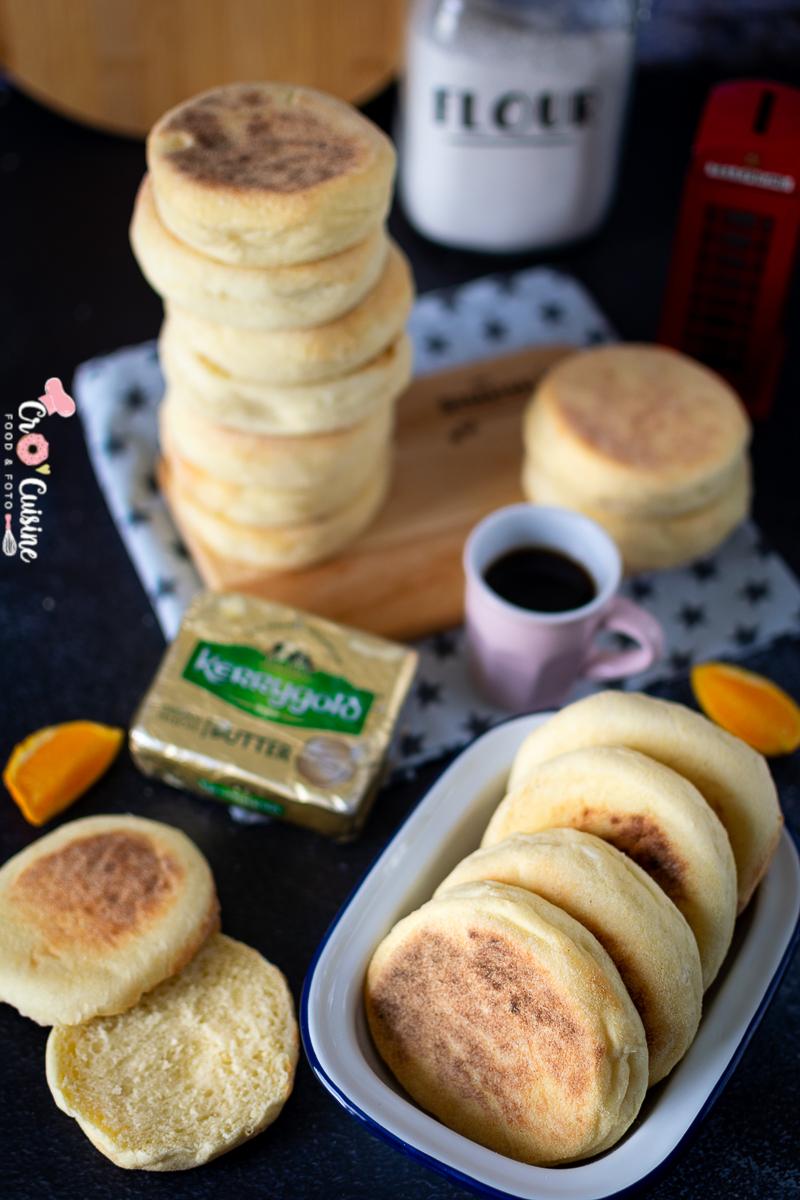 le muffin anglais sucré ou salé, il est parfait à tous les repas