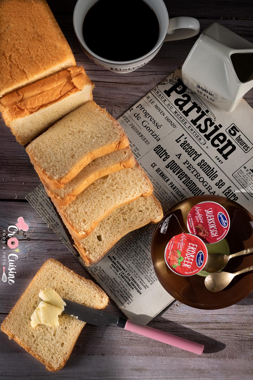 Un délicieux pain de mie classique idéal pour le petit-déjeuner et les plats salés ainsi que l'apéro. Les enfants ne resteront pas sans voix.