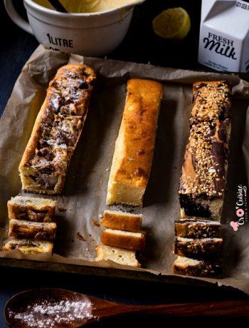 Des petits cakes multi saveurs parfaits pour le goûter des petits et des grands gourmands